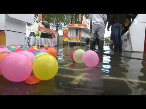 A Caen, la Foire de Pâques est fermée en raison d'une inondation