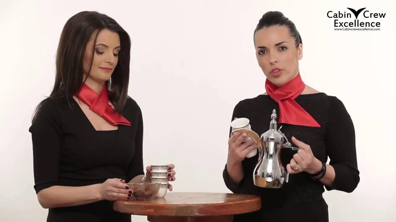 arabic coffee service protocol youtube
