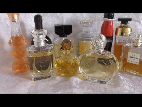 My Top 10 Favorite Fragrances. 10 моих любимых парфюмов.