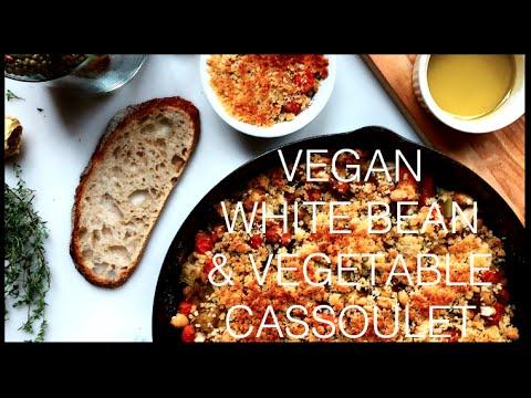 VEGAN WHITE BEAN & VEGETABLE CASSOULET
