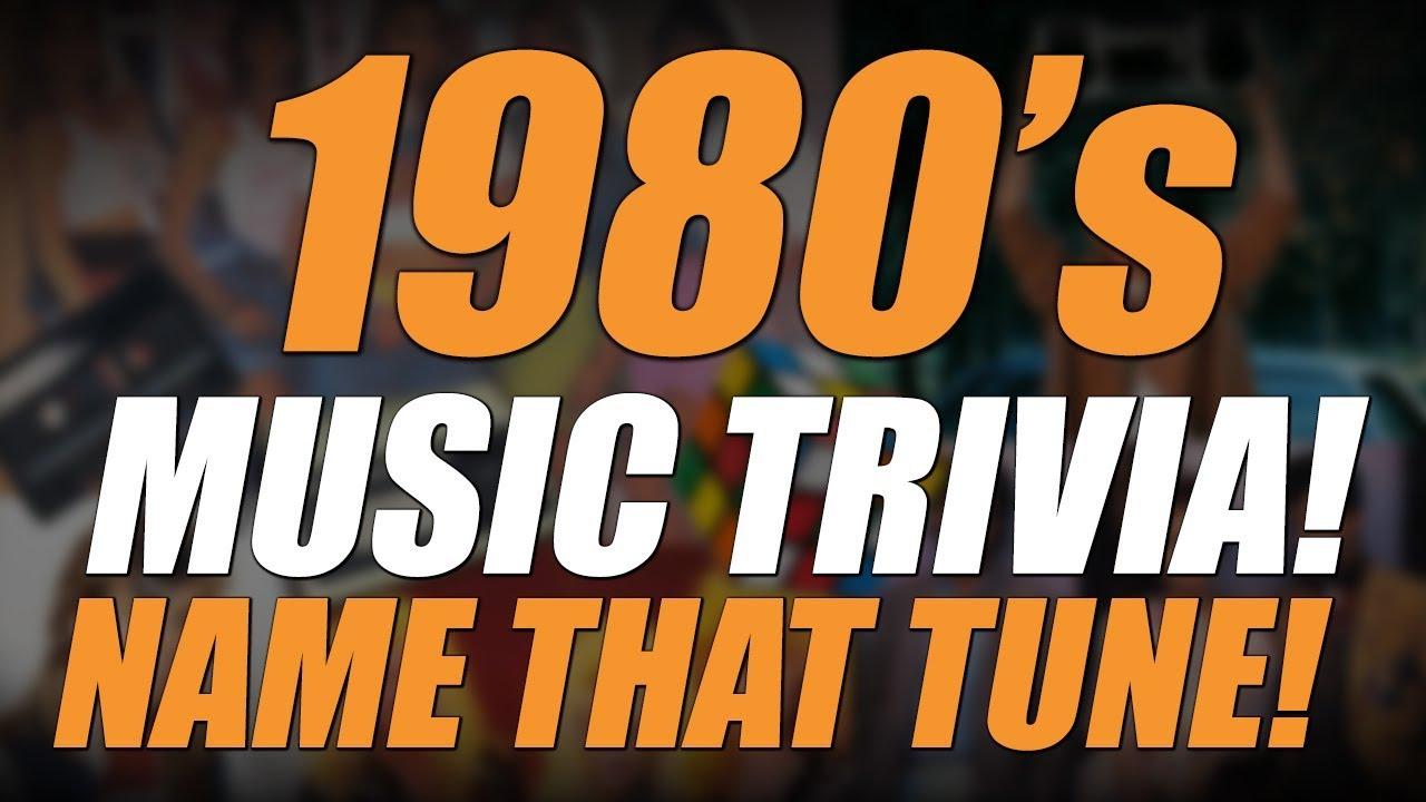 1980 S Music Trivia Name That Tune Youtube