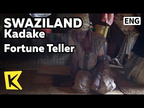 【K】Swaziland Travel-Kadake[스와질란드 여행-카다케]점술가 할머니/Fortune Teller/Divination/Native/Village/Food/land