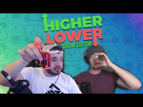 Bottoms Up! - HIGHER/LOWER SHOTS Edition ft. @MiniLaddd