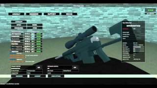 Roblox - Phantom Forces: Cheytac Intervention M200 /w Attachments Review