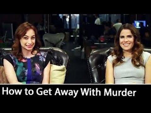 'How to Get Away With Murder': Karla Souza Interview | October 2016
