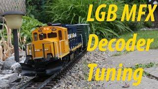 LGB MFX Decoder Tuning