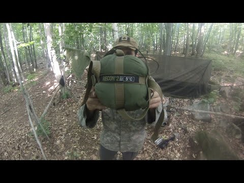 Military Sleep System Sleeping Bag Review Survival Gear Youtube