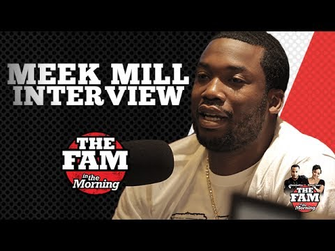 Meek Mill Says Stop Asking Him About Drake & Nicki Minaj on The Fam In The Morning
