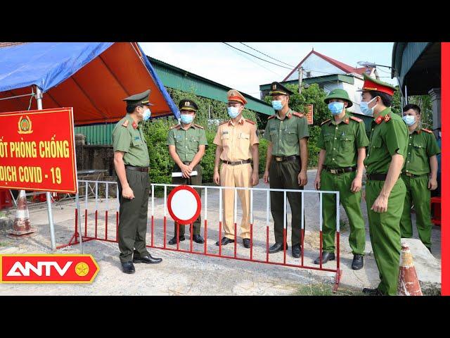 Nhật ký an ninh ngày 13/6: Lực lượng công an đảm bảo an ninh, an toàn các điểm cách ly   ANTV