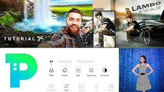 App Review Of PickU - Cutout  & Photo Editor Professional Editing Tools - real estate photo editing screenshot 2