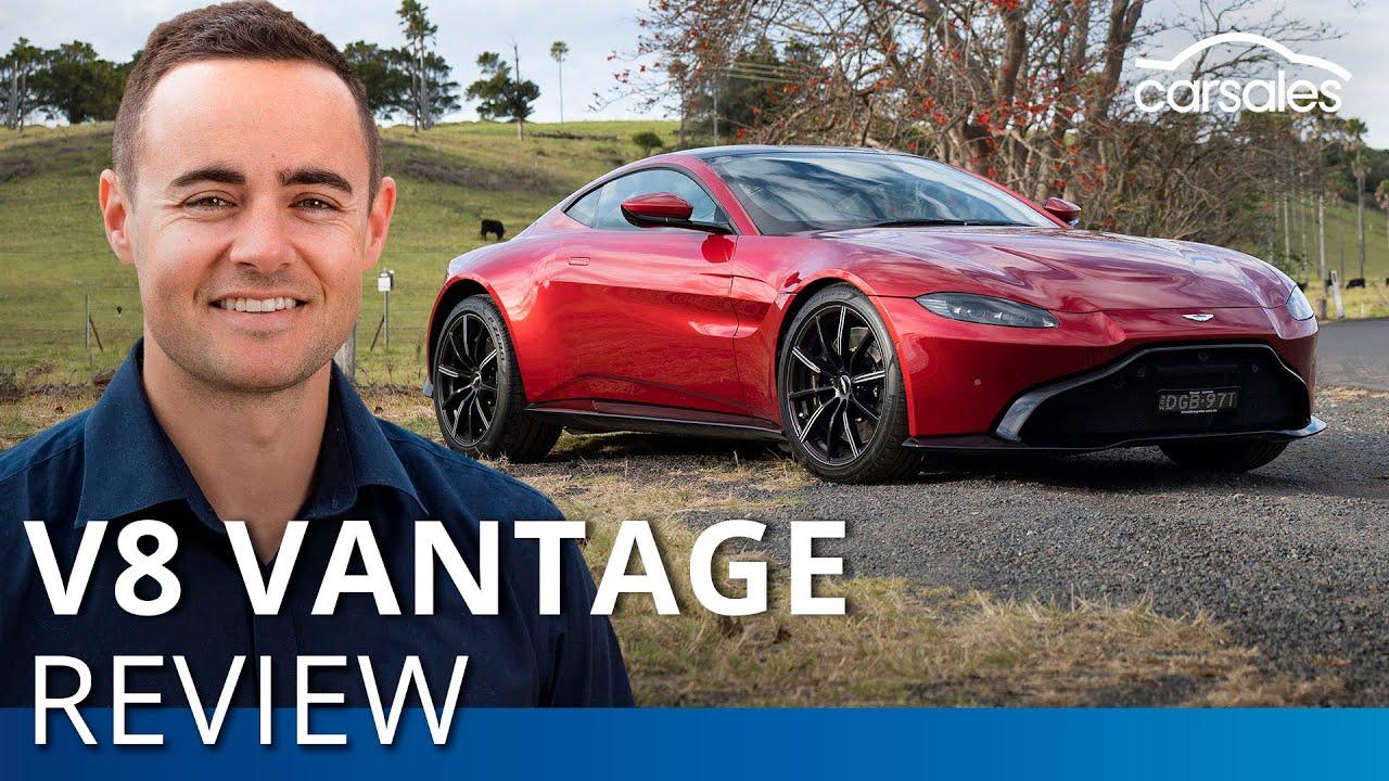 2019 Aston Martin Vantage V8 Review Carsales Youtube