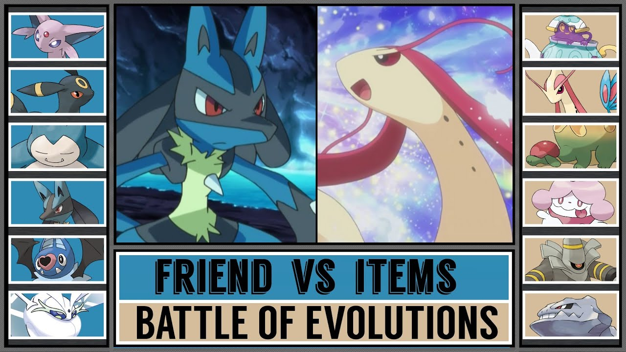 Battle of Evolutions: FRIENDSHIP vs ITEM EVOLUTION