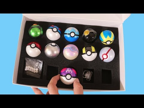 Opening a Premium Pocket Monsters Ball Collection