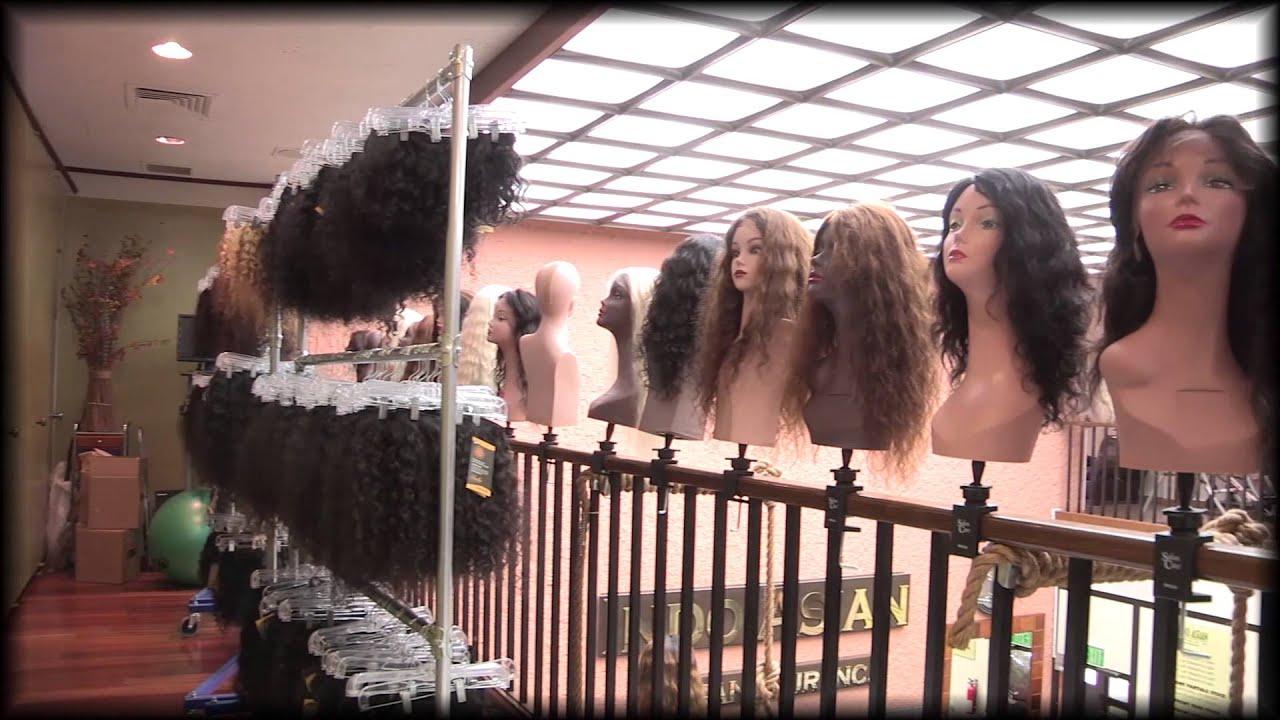 Indo asian hair