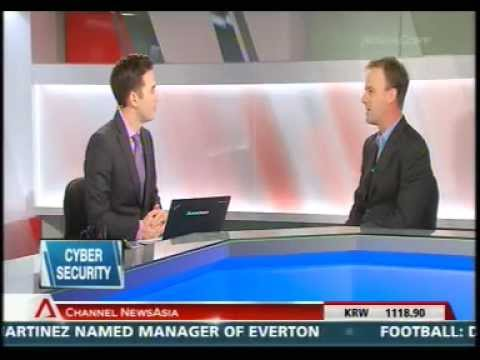 Channel NewsAsia Interview: Greg Bunt Discusses Security