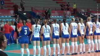 17-06-2016: Bari WGP - Ingresso in campo Russia-Olanda