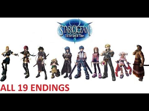 Star Ocean 3 Till the End of Time  ALL 19 ENDINGS