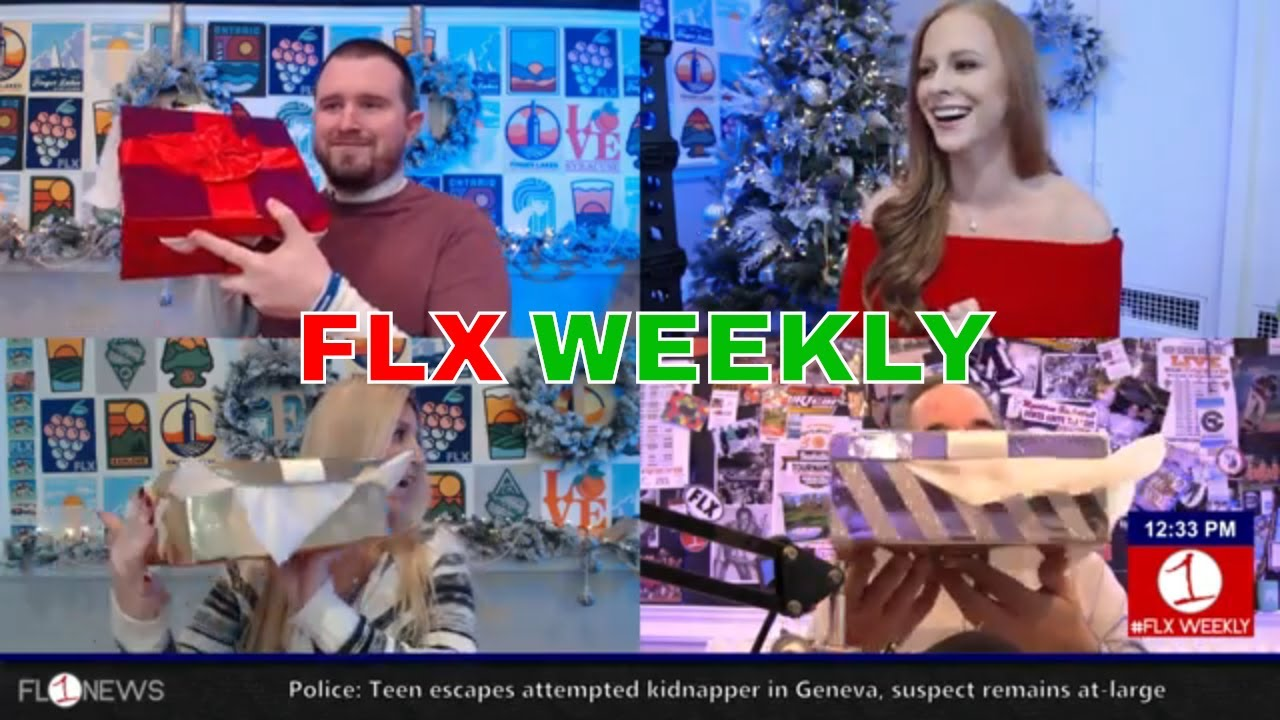 Christmas week arrives as we wind down 2018 .::. FLX Weekly with Jessica Lahr 12/19/18