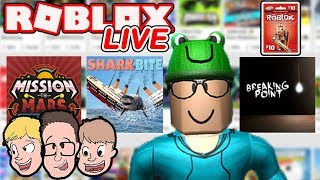 Roblox LIVE with Schlamaddy | New Game Every 15 Minutes! | Enter the Robux Giveaway