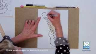 Teaching Kids How to Draw: How to Draw an Electric Guitar