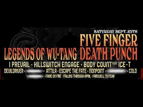 2021 'Rebel Rock Fest' announced! Limp Bizkit/Five finger Death Punch/Rise Against and more!