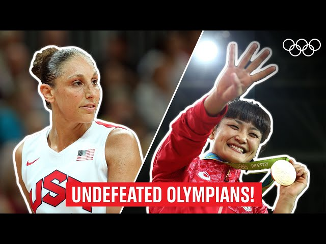 12 Olympians who NEVER lost. Not once!
