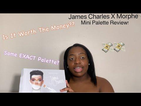 James Charles X Morphe Mini Palette Review! thumbnail