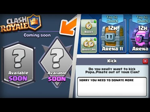 Clash Royale - 10 Things That Need To Be Added Before 2018! New Update Wishlist 2017!