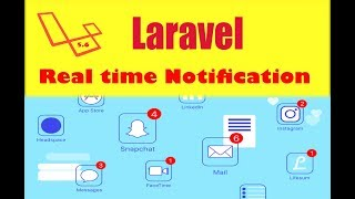 Laravel 5.6 Notification with real time  using pusher path 1