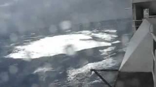 Super Wave hits cruise ship