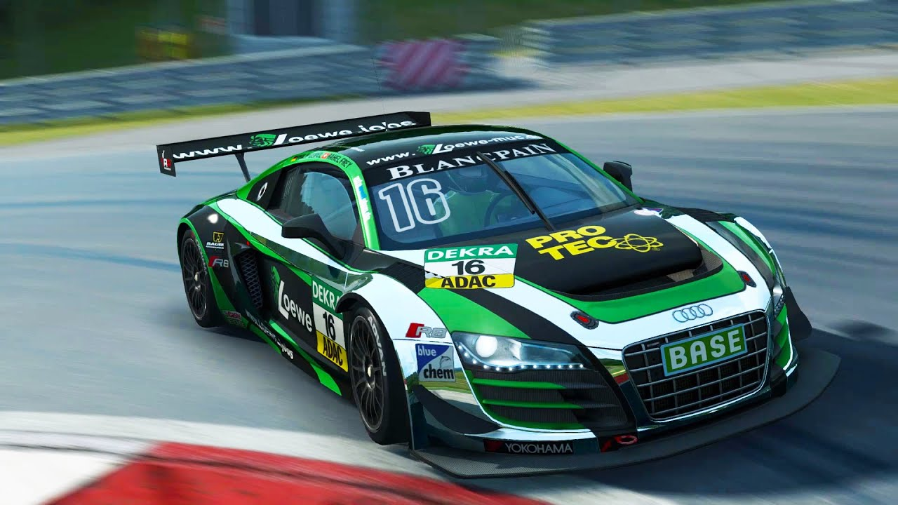 Adac Gt Masters Experience 2014 Audi R8 Lms Ultra Gameplay