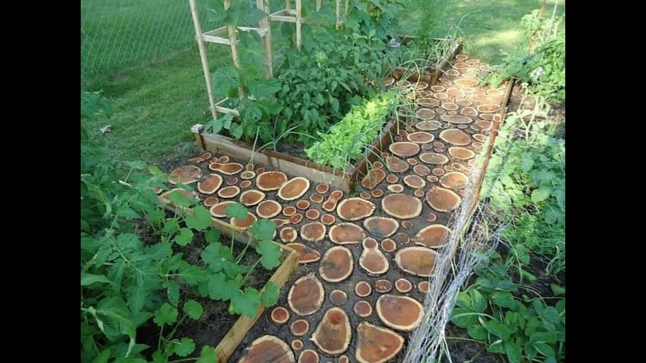 Decoración de jardines con baldosas - YouTube
