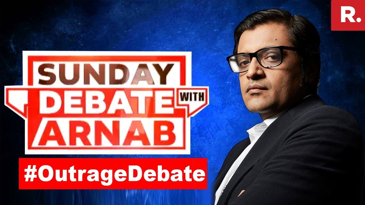 Whose Outrage Is Justified Right Or Anti Right Exclusive Sunday Debate With Arnab Goswami