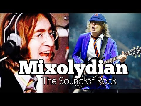 The Mixolydian Mode | THE SOUND OF ROCK