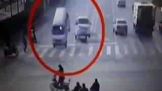 Қытайдағы жол апаты ғаламтор қолданушыларын таңғалдырды (01.12.15)