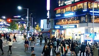 SEOUL WALK - Itaewon on Saturday Night (서울 걷기 여행- 불타는 토요일~! 이태원 프리덤)