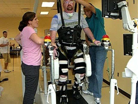 Adam's rehabilitation at Shepherd Center