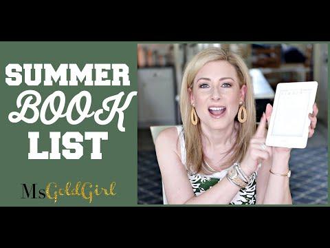 Summer Book Recommendations | MsGoldgirl