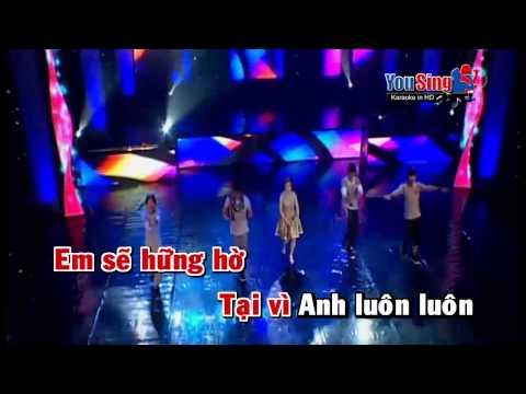 Ghet Anh Gian Anh  Cam Ly Karaoke