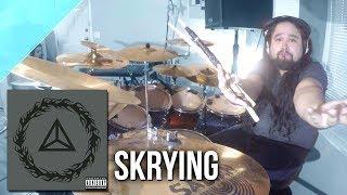 """Mudvayne - """"Skrying"""" drum cover by Allan Heppner"""