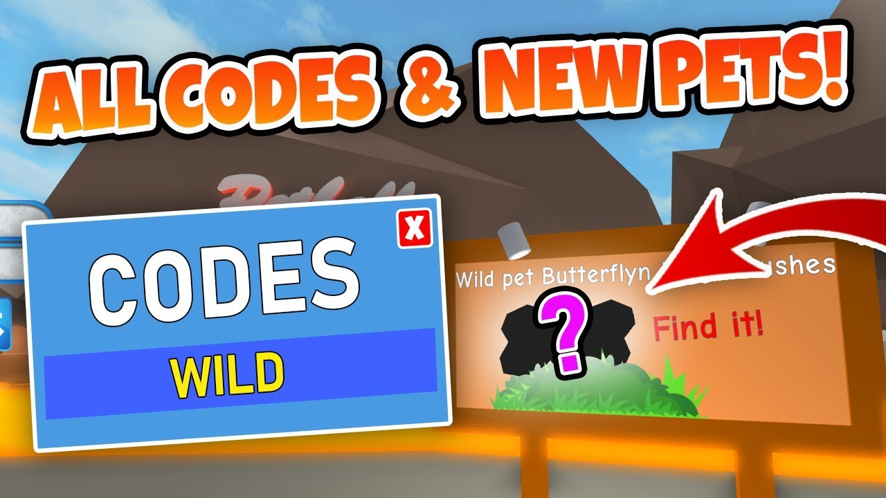ALL CODES - ROBLOX PET TRAINER UPDATE 3