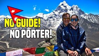 FULL EVEREST BASE CAMP TREK without a guide or porter | Nepal Travel
