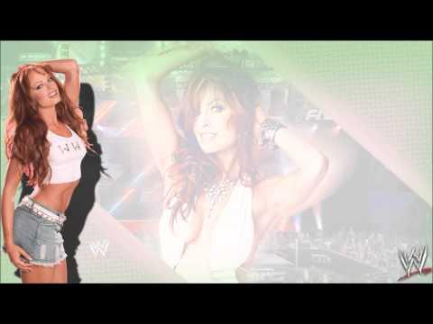 "WWE:Christy Hemme 1st Theme Song ""Gangsta Grunt"""