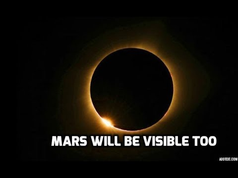 Lunar Eclipse: Mars will coincide with the blood moon today, will be visible to the naked eye