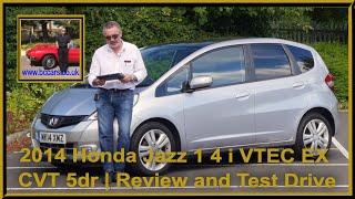 2014 Honda Jazz 1 4 i VTEC EX CVT 5dr | Review and Test Drive