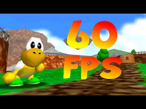 Super Mario 64 running at native 60 FPS! (OUTDATED)