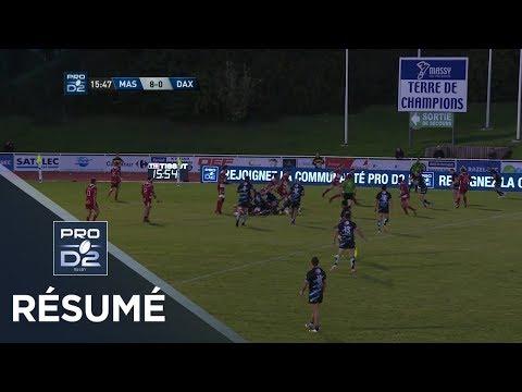 RC Massy Essonne v Dax, Pro D2 2017-2018 | Ultimate Rugby