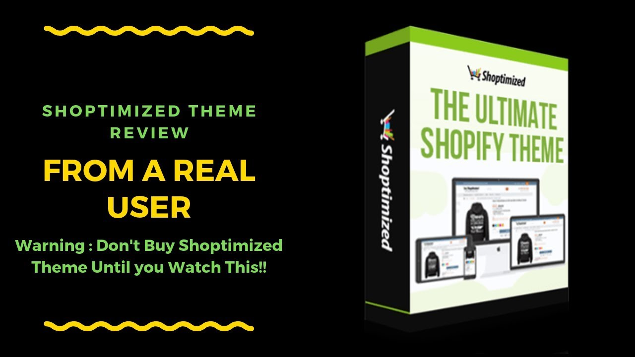 Shoptimized Theme Review from Real User-⛔⚠️-Don't Buy Shoptimized Until You  Watch This 😱😝