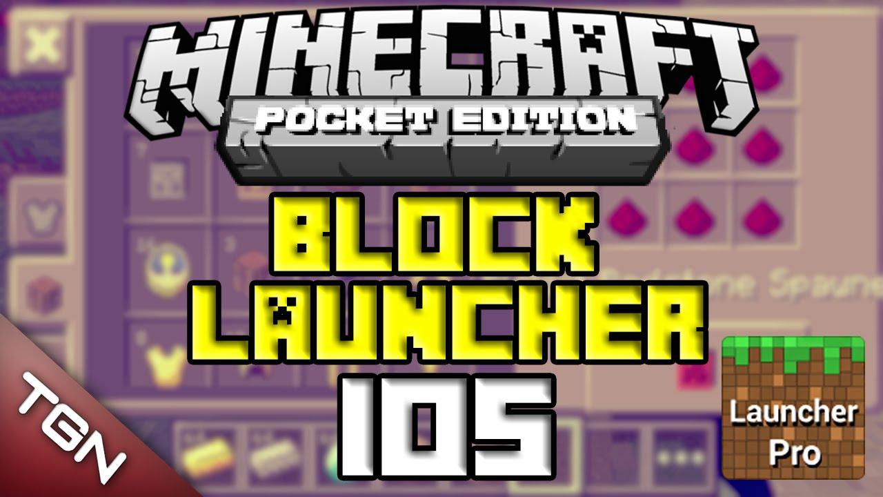 Block Launcher Pro para iOS | Minecraft PE 0 9 x | Avances / Noticia  (Oficial)