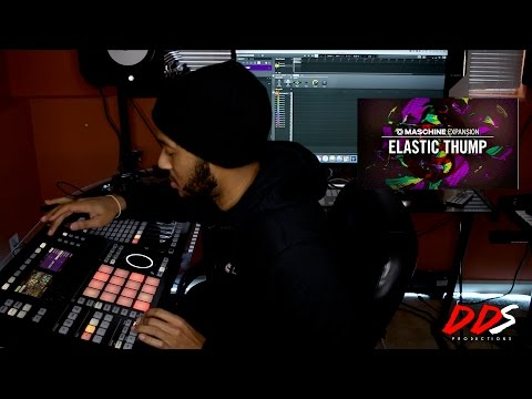 Going Through The New Maschine Expansion Elastic Thump! (Sound By Sound)